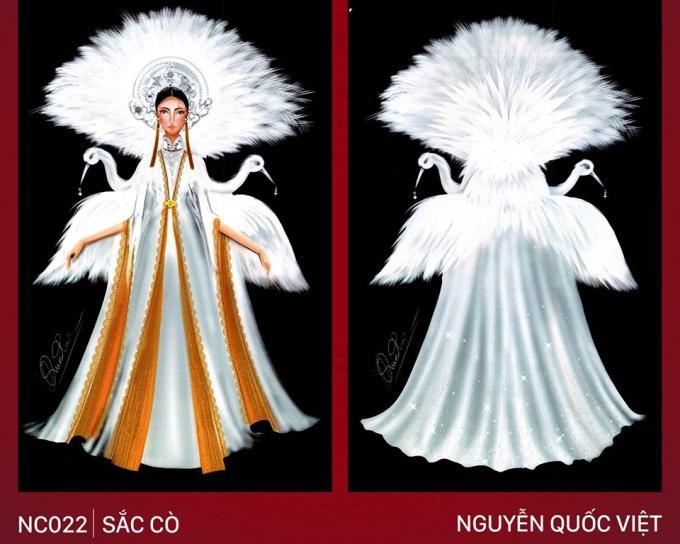 Trang phục 'Bàn thờ' cho Hoàng Thùy thi Miss Universe gây tranh cãi - Ảnh 3