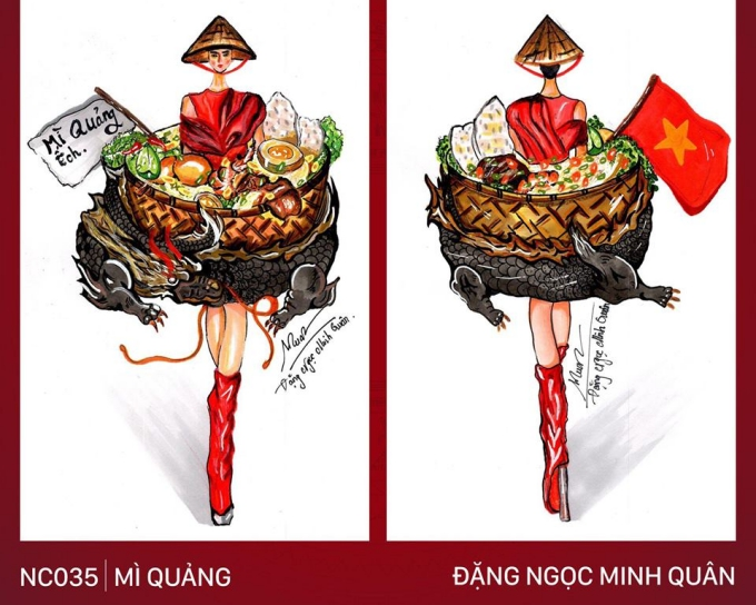 Trang phục 'Bàn thờ' cho Hoàng Thùy thi Miss Universe gây tranh cãi - Ảnh 4