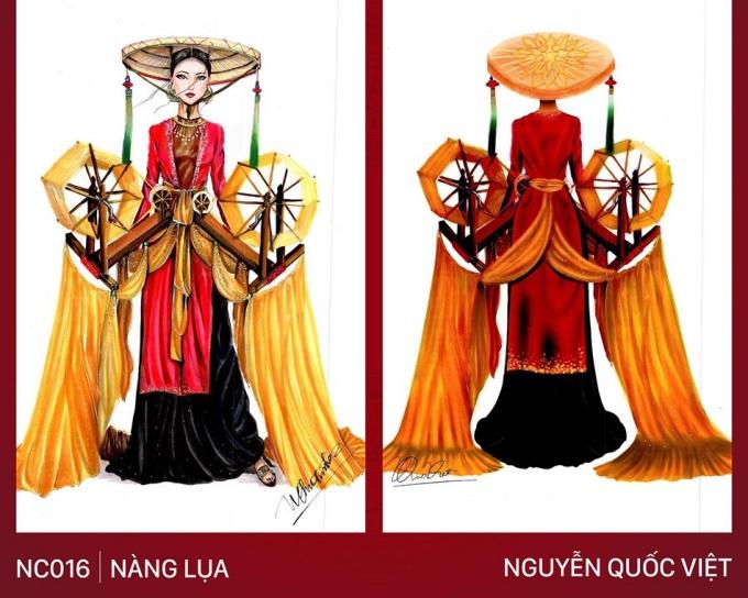 Trang phục 'Bàn thờ' cho Hoàng Thùy thi Miss Universe gây tranh cãi - Ảnh 5
