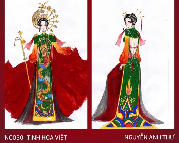 Trang phục 'Bàn thờ' cho Hoàng Thùy thi Miss Universe gây tranh cãi - Ảnh 6
