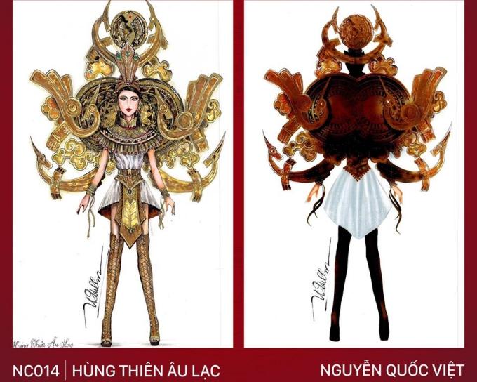 Trang phục 'Bàn thờ' cho Hoàng Thùy thi Miss Universe gây tranh cãi - Ảnh 7