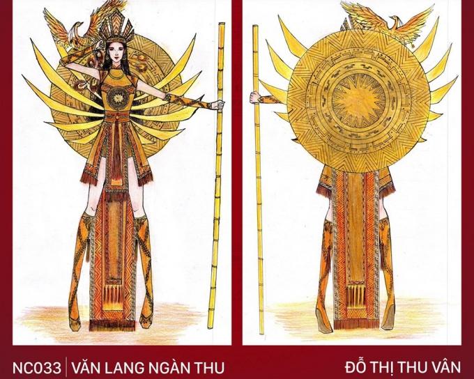 Trang phục 'Bàn thờ' cho Hoàng Thùy thi Miss Universe gây tranh cãi - Ảnh 9