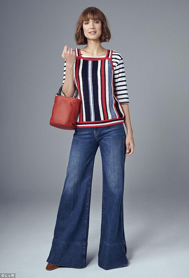 Chỉ 1 chiếc áo phông kẻ, cô nàng này đã có đến 21 cách mặc khác nhau hợp với mọi hoàn cảnh - Ảnh 5