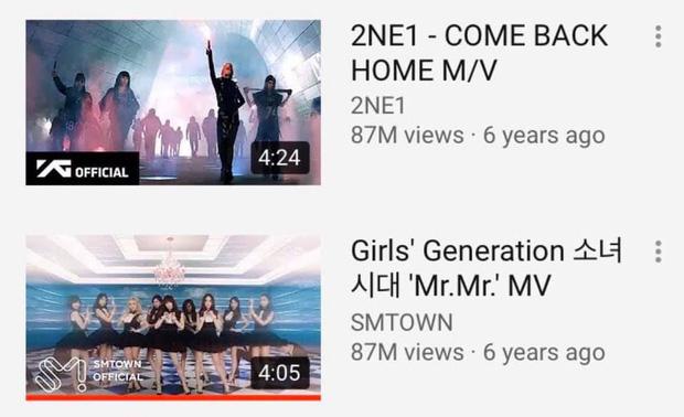 Giữa cơn bão BLACKPINK, MV của SNSD và 2NE1 âm thầm san bằng view nhau, fan 2 nhà nổi hứng mở cuộc đua stream làm 'funwar' cho vui! - Ảnh 4