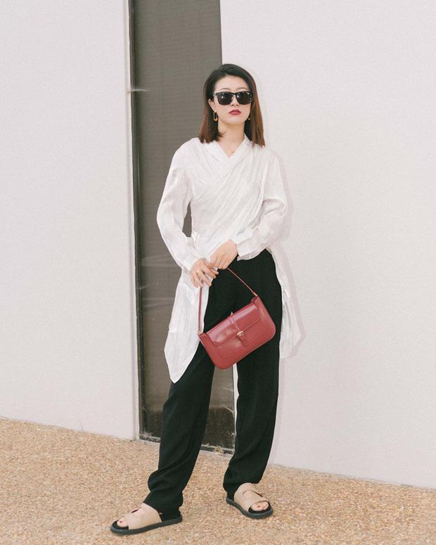 Nàng fashion blogger gợi ý 9 set đồ trung tính để chị em công sở dù 'vụng về' vẫn mặc đẹp khỏi nghĩ - Ảnh 9