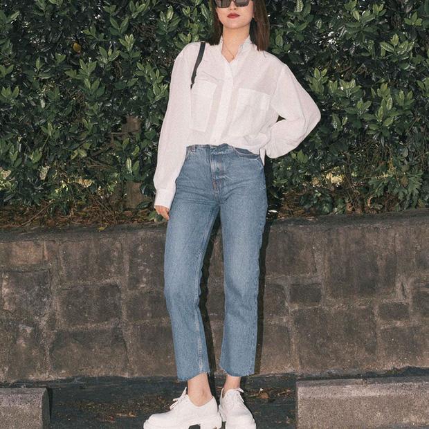 Nàng fashion blogger gợi ý 9 set đồ trung tính để chị em công sở dù 'vụng về' vẫn mặc đẹp khỏi nghĩ - Ảnh 6