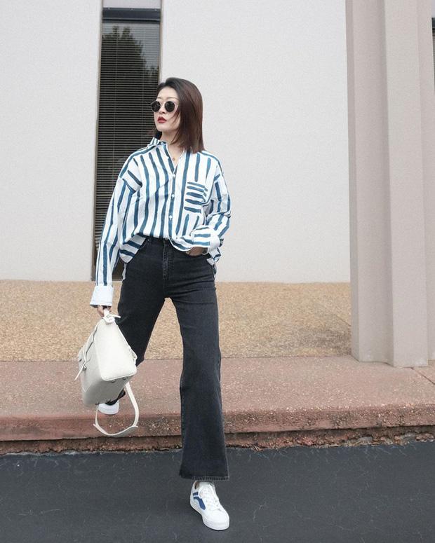 Nàng fashion blogger gợi ý 9 set đồ trung tính để chị em công sở dù 'vụng về' vẫn mặc đẹp khỏi nghĩ - Ảnh 7
