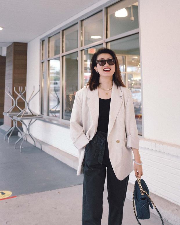 Nàng fashion blogger gợi ý 9 set đồ trung tính để chị em công sở dù 'vụng về' vẫn mặc đẹp khỏi nghĩ - Ảnh 8