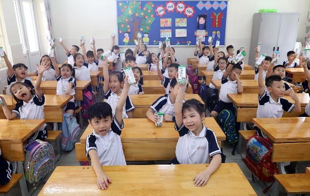 Nhân rộng niềm vui mang tên 'sữa học đường' - Ảnh 1