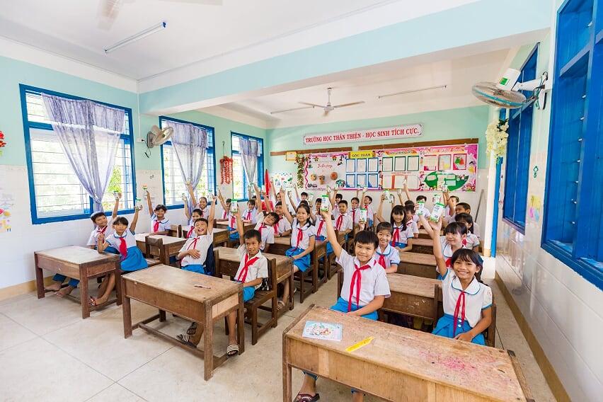 Nhân rộng niềm vui mang tên 'sữa học đường' - Ảnh 11