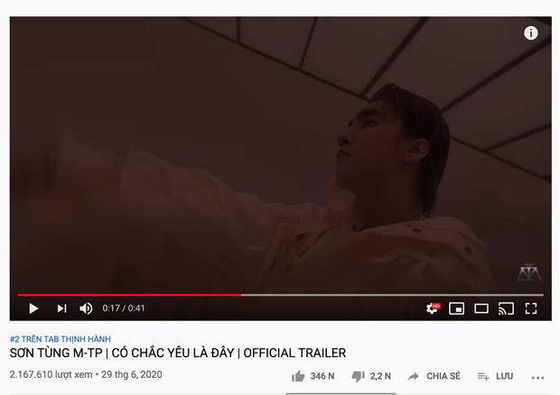 Sơn Tùng M-TP phi thẳng #2 trending 'đe doạ' BLACKPINK, fan cật lực cày view vì chờ đợi quá lâu và các thành tích sau 11 tiếng ra trailer MV mới - Ảnh 9