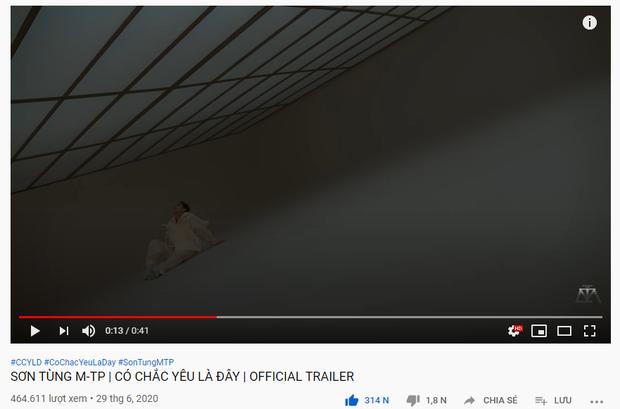 Sơn Tùng M-TP phi thẳng #2 trending 'đe doạ' BLACKPINK, fan cật lực cày view vì chờ đợi quá lâu và các thành tích sau 11 tiếng ra trailer MV mới - Ảnh 3