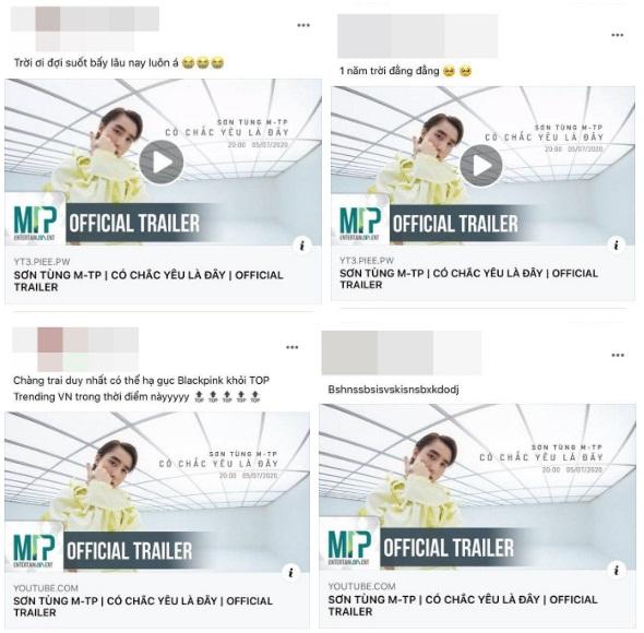Sơn Tùng M-TP phi thẳng #2 trending 'đe doạ' BLACKPINK, fan cật lực cày view vì chờ đợi quá lâu và các thành tích sau 11 tiếng ra trailer MV mới - Ảnh 5