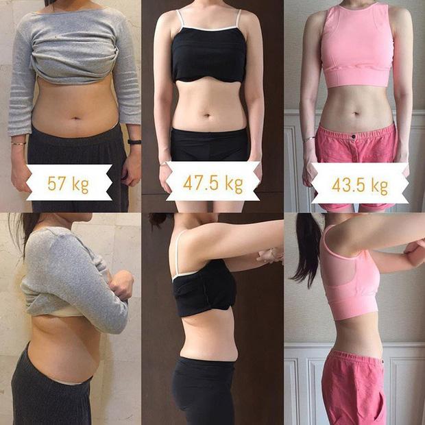 Cô gái Thái Lan giảm một lèo 14kg trong 10 tháng nhờ thay đổi cách ăn uống và tập luyện - Ảnh 1