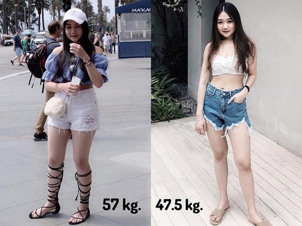 Cô gái Thái Lan giảm một lèo 14kg trong 10 tháng nhờ thay đổi cách ăn uống và tập luyện - Ảnh 5
