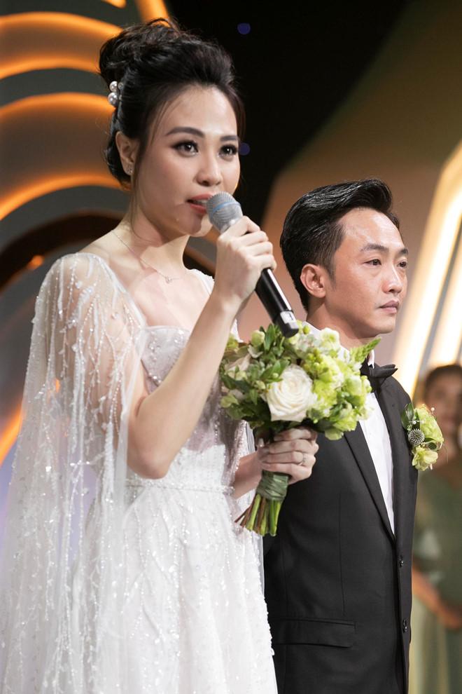 Cường Đô La cảm ơn mẹ vợ, Đàm Thu Trang tâm sự về mẹ chồng tại hôn lễ - Ảnh 2