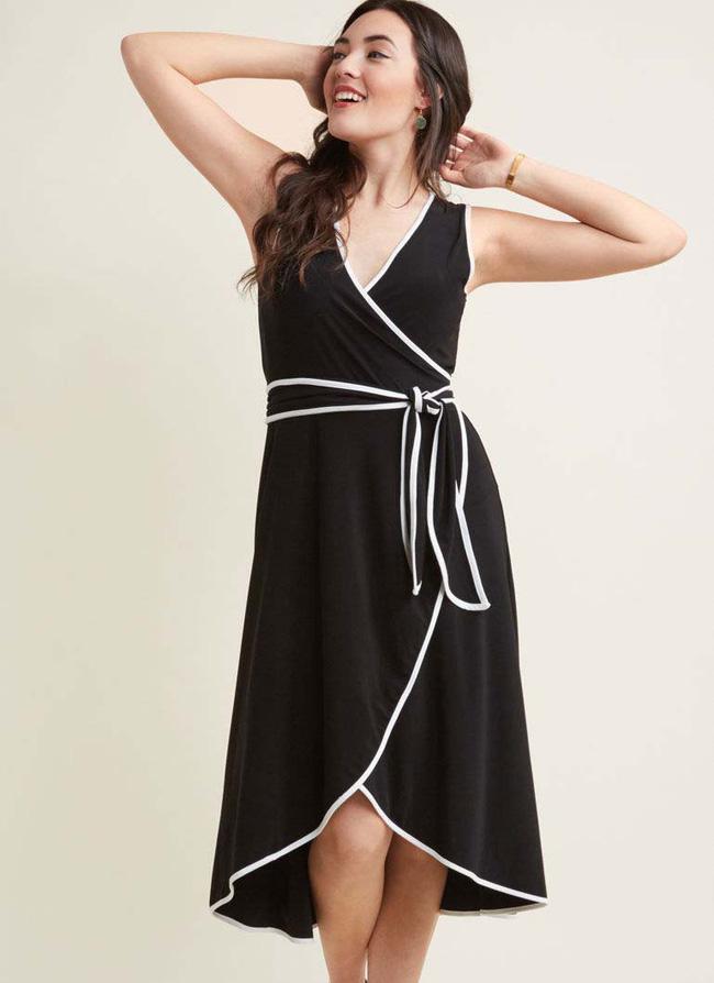 11 bộ váy đen tối giản cứ tưởng là nhàm chán, nhưng lại có thể giúp chị em quyến rũ hết phần thiên hạ - Ảnh 7