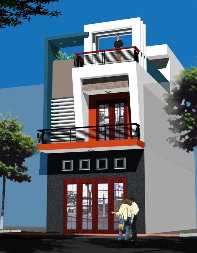Mẫu nhà phố 2 tầng tuyệt đẹp cho khu đất mặt tiền hẹp - Ảnh 5