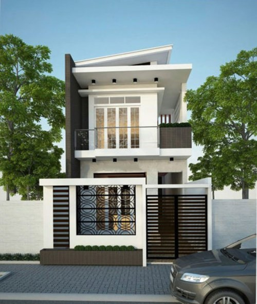 Mẫu nhà phố 2 tầng tuyệt đẹp cho khu đất mặt tiền hẹp - Ảnh 7