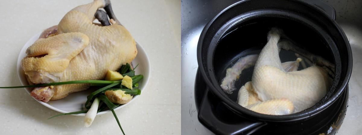 Ngon miệng bổ dưỡng món canh gà hầm rau củ - Ảnh 1