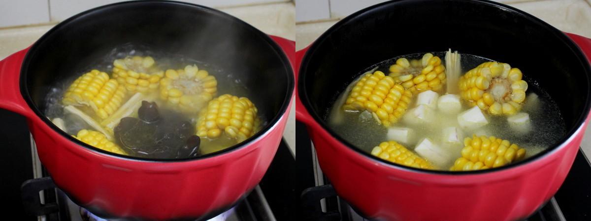 Ngon miệng bổ dưỡng món canh gà hầm rau củ - Ảnh 3