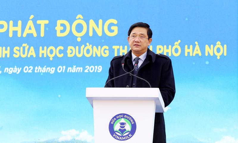 Chương trình sữa học đường Hà Nội được chính thức triển khai - Ảnh 1