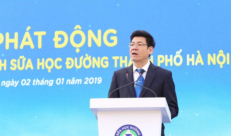 Chương trình sữa học đường Hà Nội được chính thức triển khai - Ảnh 2