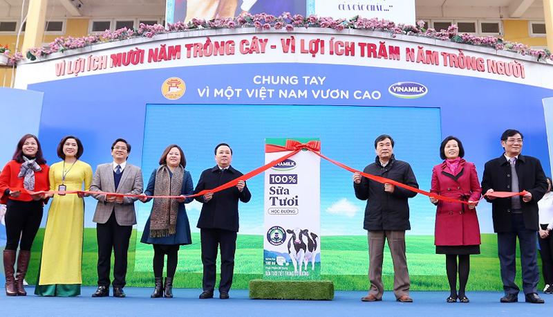 Chương trình sữa học đường Hà Nội được chính thức triển khai - Ảnh 3