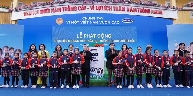 Chương trình sữa học đường Hà Nội được chính thức triển khai - Ảnh 5