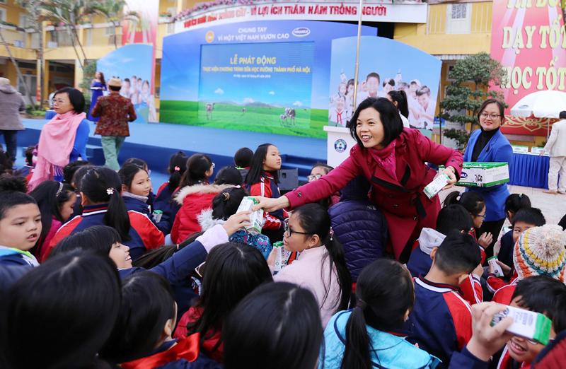 Chương trình sữa học đường Hà Nội được chính thức triển khai - Ảnh 6