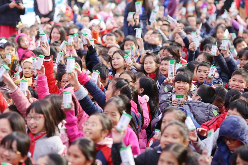 Chương trình sữa học đường Hà Nội được chính thức triển khai - Ảnh 10