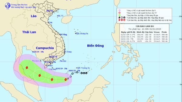 Dự báo thời tiết 2/1: Hà Nội rét cắt da, bão số 1 áp sát Cà Mau - Ảnh 2