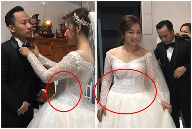 Lần đầu lộ diện sau đám cưới, ngoại hình bà xã kém 10 tuổi của Đinh Tiến Đạt gây chú ý - Ảnh 5