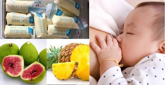 Mẹ ở cữ hãy ăn trái cây theo cách này, nuôi con sơ sinh sổ sữa, chóng lớn lại ít ốm bệnh - Ảnh 1