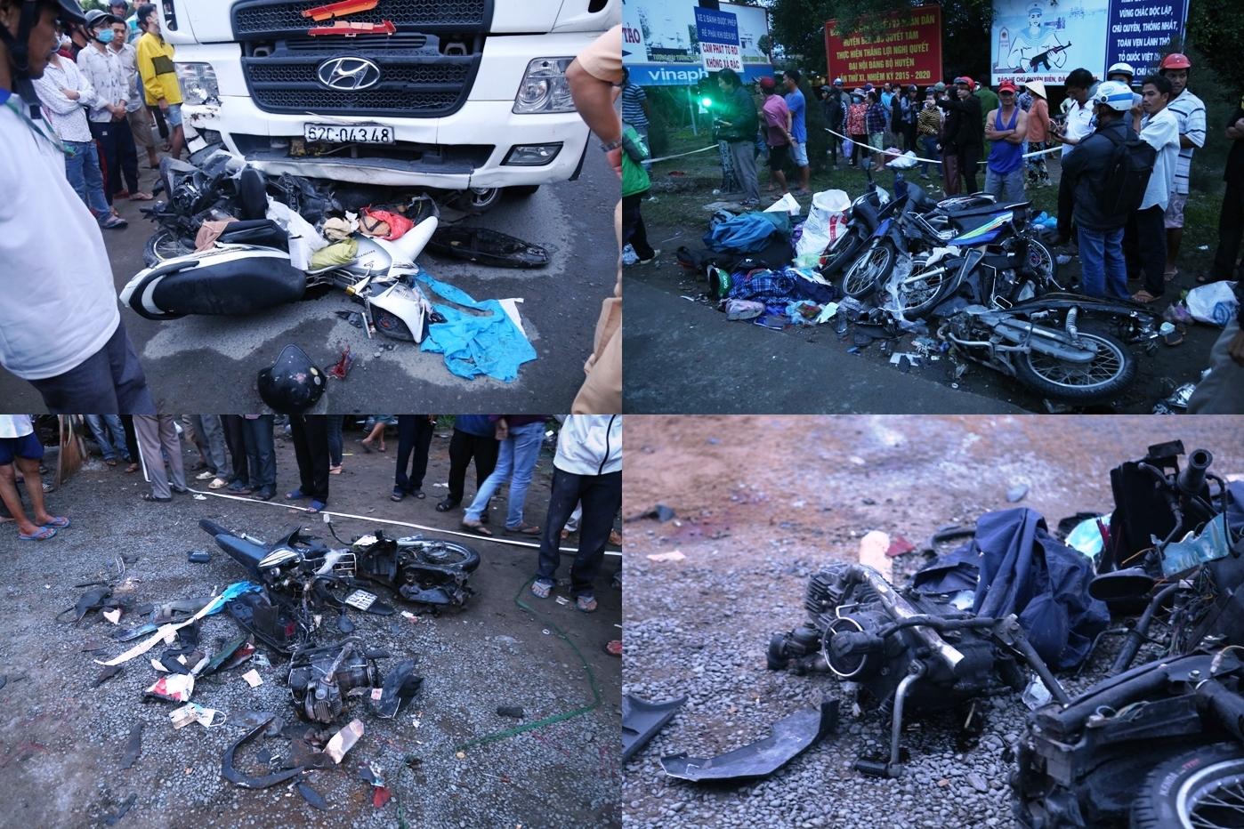 Ám ảnh lời kể nhân chứng vụ container tông 18 xe máy dừng đèn đỏ khiến 4 người tử vong, hơn 20 người bị thương - Ảnh 6