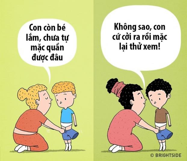 10 sự khác biệt giữa cha mẹ thông thái với cha mẹ bình thường dể dạy con nên người - Ảnh 2