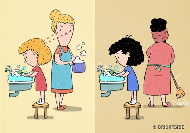 10 sự khác biệt giữa cha mẹ thông thái với cha mẹ bình thường dể dạy con nên người - Ảnh 3