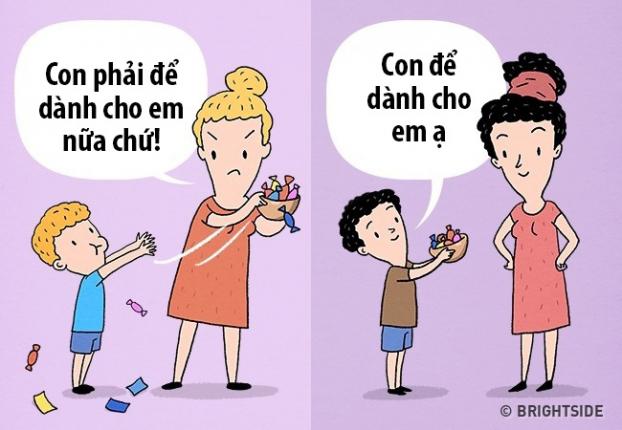 10 sự khác biệt giữa cha mẹ thông thái với cha mẹ bình thường dể dạy con nên người - Ảnh 9