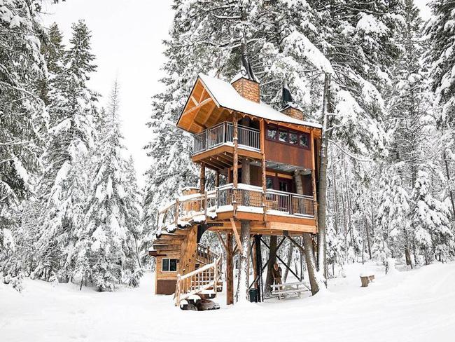 Những ngôi nhà trên cây tuyệt đẹp khiến bạn mộng mơ đến một cuộc sống chan hòa bên thiên nhiên - Ảnh 1