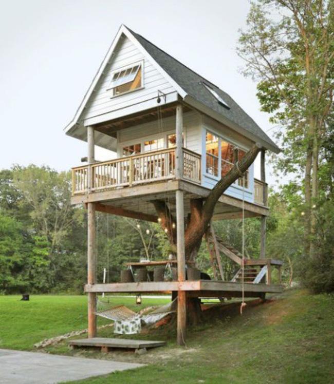 Những ngôi nhà trên cây tuyệt đẹp khiến bạn mộng mơ đến một cuộc sống chan hòa bên thiên nhiên - Ảnh 10