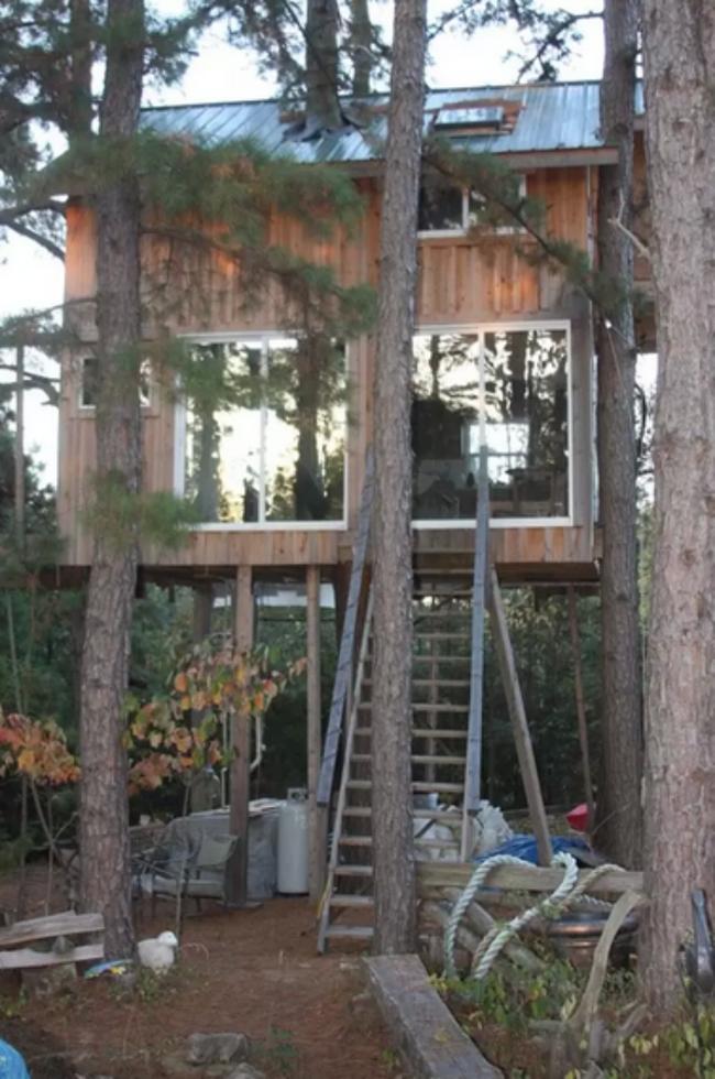 Những ngôi nhà trên cây tuyệt đẹp khiến bạn mộng mơ đến một cuộc sống chan hòa bên thiên nhiên - Ảnh 12