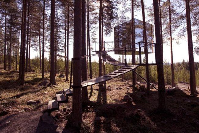 Những ngôi nhà trên cây tuyệt đẹp khiến bạn mộng mơ đến một cuộc sống chan hòa bên thiên nhiên - Ảnh 13