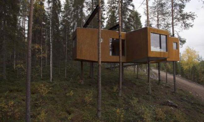 Những ngôi nhà trên cây tuyệt đẹp khiến bạn mộng mơ đến một cuộc sống chan hòa bên thiên nhiên - Ảnh 19
