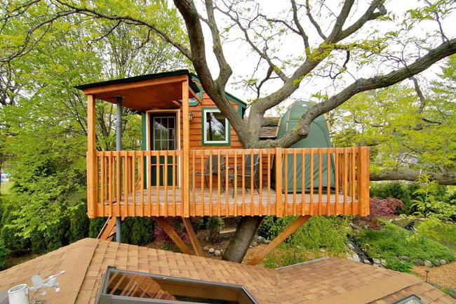 Những ngôi nhà trên cây tuyệt đẹp khiến bạn mộng mơ đến một cuộc sống chan hòa bên thiên nhiên - Ảnh 22