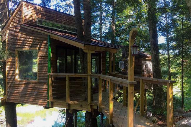 Những ngôi nhà trên cây tuyệt đẹp khiến bạn mộng mơ đến một cuộc sống chan hòa bên thiên nhiên - Ảnh 24