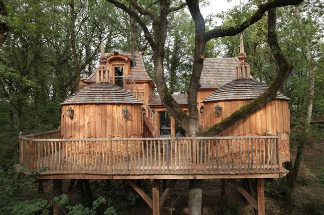 Những ngôi nhà trên cây tuyệt đẹp khiến bạn mộng mơ đến một cuộc sống chan hòa bên thiên nhiên - Ảnh 4