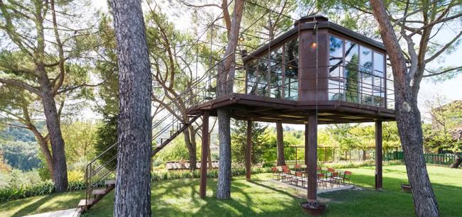 Những ngôi nhà trên cây tuyệt đẹp khiến bạn mộng mơ đến một cuộc sống chan hòa bên thiên nhiên - Ảnh 9