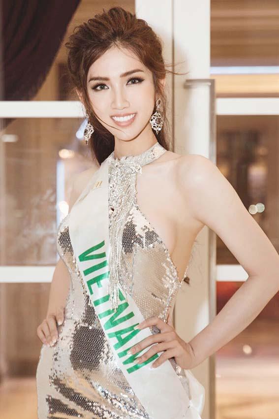 Đỗ Nhật Hà khoe đường cong nữ thần tại Hoa hậu Chuyển giới quốc tế - Ảnh 1