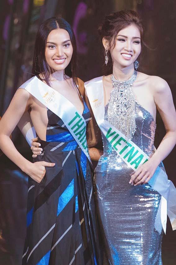 Đỗ Nhật Hà khoe đường cong nữ thần tại Hoa hậu Chuyển giới quốc tế - Ảnh 3