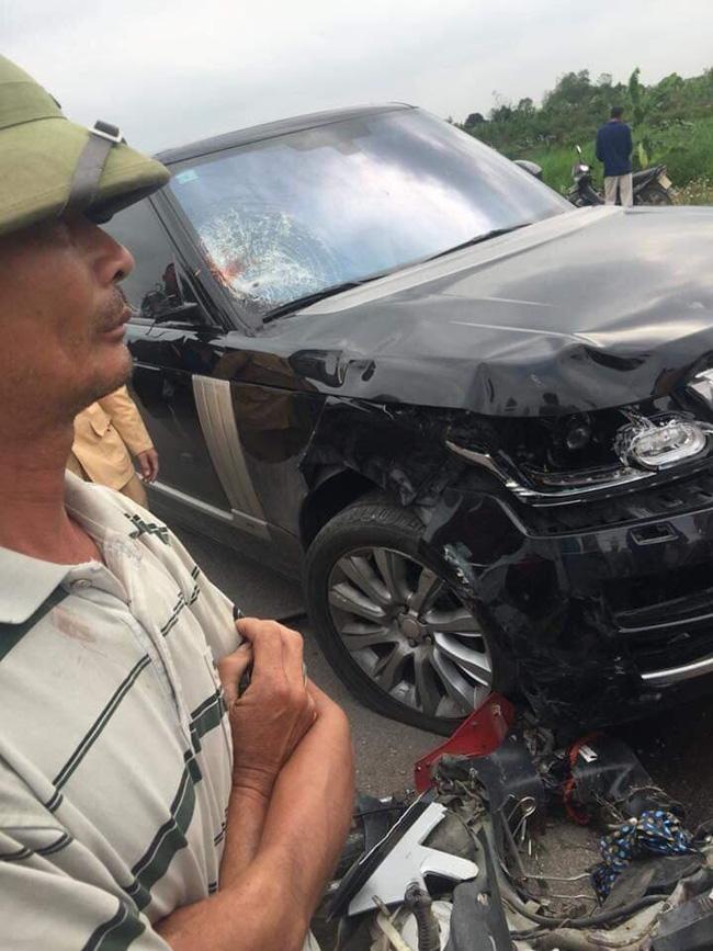Hưng Yên: Chồng tử vong, vợ nguy kịch sau khi va chạm với xe Range Rover - Ảnh 1